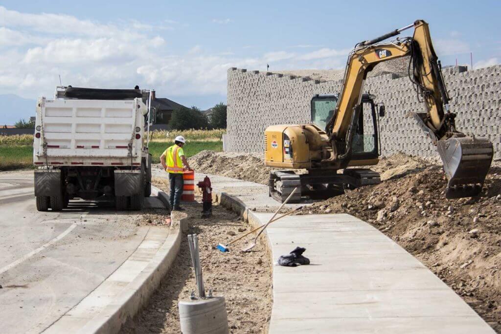 Evermore Park Construction