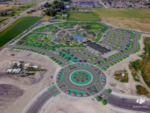 Evermore Park Construction Rendering