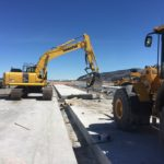 Jackson Hole Wyoming Airport Apron Concrete Paving