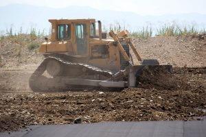 Provo Airport Bulldozer
