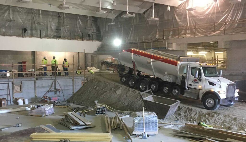 Sunroc Was Contracted By Byu To Demo The Existing Pool Structure And Build Out Foundation For New Pools Inside Richards Building