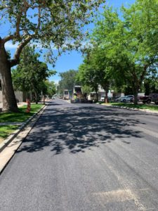 Downtown Boise Improvement with new curbing, gutter, sidewalks and asphalt