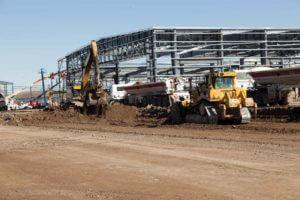 Duncan Aviation construction excavation