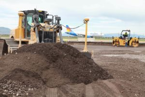 Duncan Aviation construction bulldozer