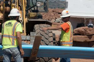 Greyhawk Apartments construction workers