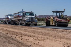 Delivering Utah's Best Asphalt Mix to I-15 job