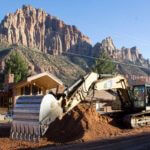 SR-9-Springdale Zion National Park Entrance Excavator
