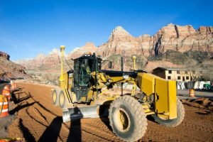 SR-9-Springdale Zion National Park Entrance Grader