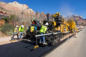 Paving asphalt in Springdale