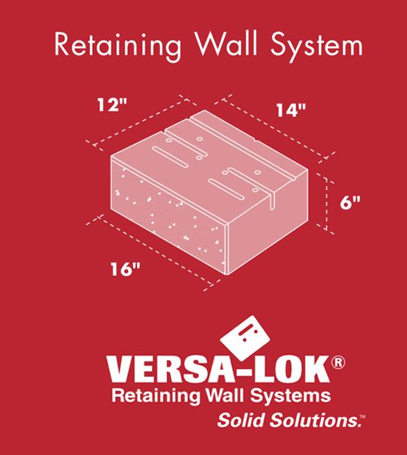 Versa Lok Standard Retaining Wall System