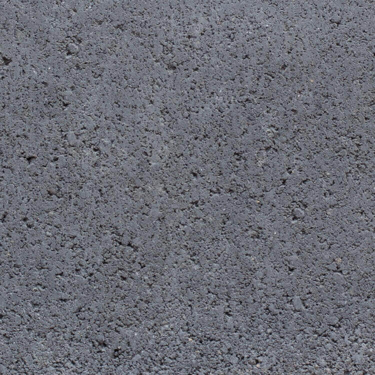 Black | Smooth - Smooth units offer the precision finish of the block mold. They invoke a clean, consistent feel with little variation in color as the individual aggregate units are not expressly visible.