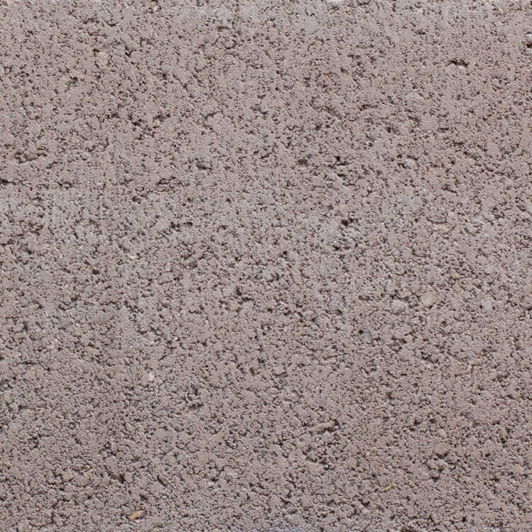 Almond | Smooth - Smooth units offer the precision finish of the block mold. They invoke a clean, consistent feel with little variation in color as the individual aggregate units are not expressly visible.