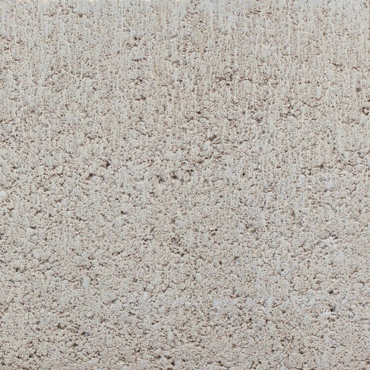 Ivory | Smooth - Smooth units offer the precision finish of the block mold. They invoke a clean, consistent feel with little variation in color as the individual aggregate units are not expressly visible.