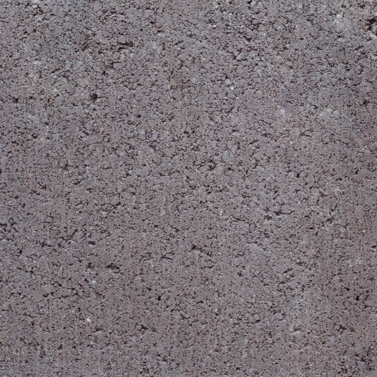 Deep Brown | Smooth - Smooth units offer the precision finish of the block mold. They invoke a clean, consistent feel with little variation in color as the individual aggregate units are not expressly visible.