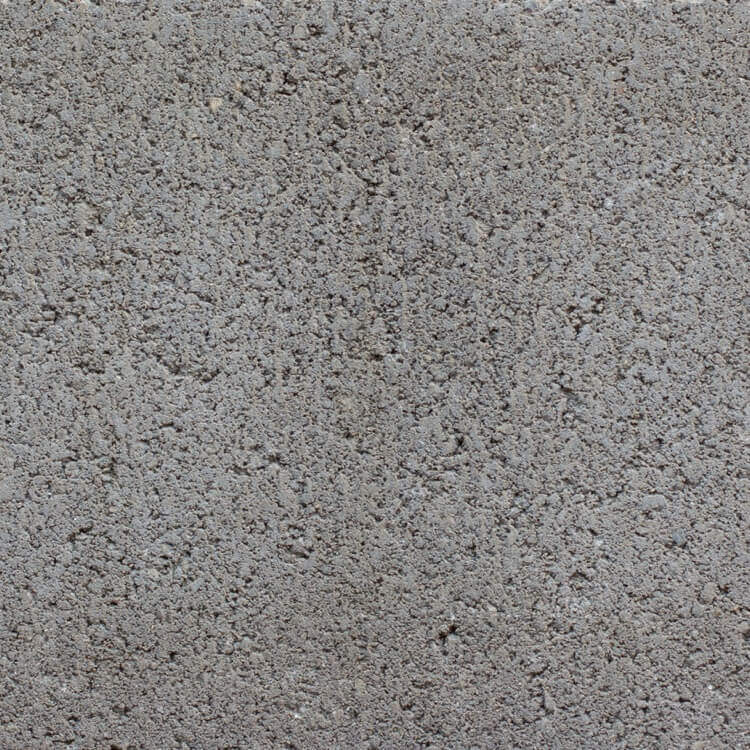 Olive | Smooth - Smooth units offer the precision finish of the block mold. They invoke a clean, consistent feel with little variation in color as the individual aggregate units are not expressly visible.