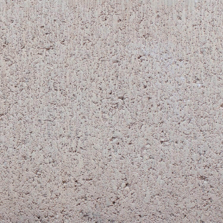 Sandal | Smooth - Smooth units offer the precision finish of the block mold. They invoke a clean, consistent feel with little variation in color as the individual aggregate units are not expressly visible.