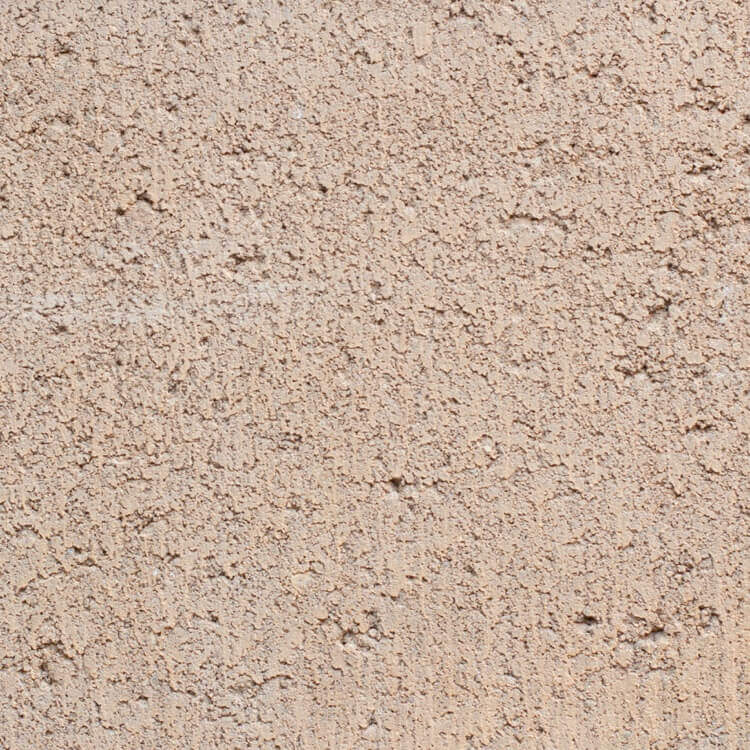 Tan | Smooth - Smooth units offer the precision finish of the block mold. They invoke a clean, consistent feel with little variation in color as the individual aggregate units are not expressly visible.