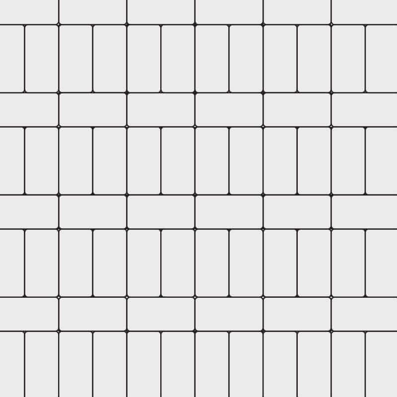 4x8 Running Stack Bond
