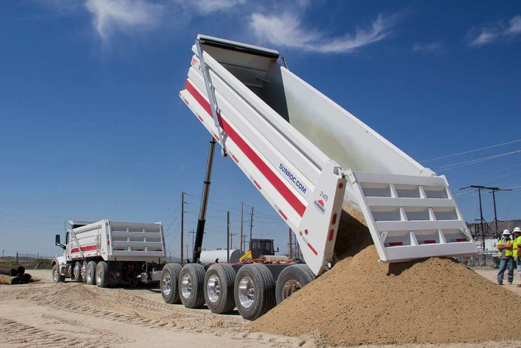 Aggregate Sand and Gravel Delivery